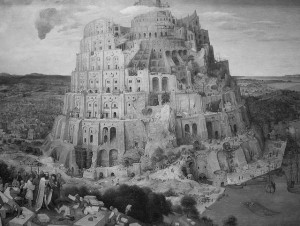 Tower of babel, av Keith Ewing, CC BY-NC 2,0, Flickr